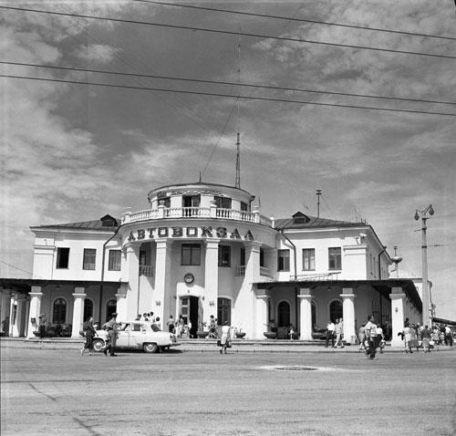 Центральный автовокзал Симферополя 1977 год